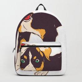 I believe in Santa paws Appenzeller Sennenhund Gift T-Shirt Backpack