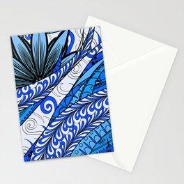 Boho Stylized Rope Pattern Stationery Cards