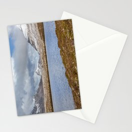 Snow Covered Hills Stationery Cards