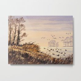 Duck Hunting Times Metal Print