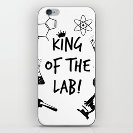 King of The Lab 2 iPhone Skin