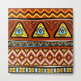 Tropical Pattern 27 Metal Print