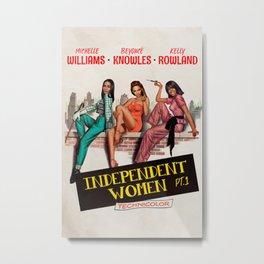 Independent women Metal Print