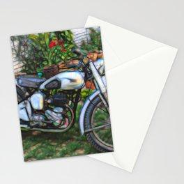Vintage Classic British Motorbike Stationery Cards
