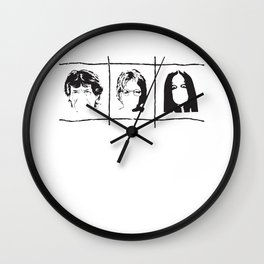 Famous singers Wall Clock