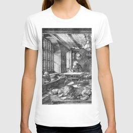 Saint Jerome in His Study by Albrecht Dürer T-shirt