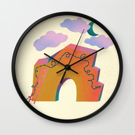 Warm Wishes Wall Clock