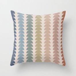 Maude Pattern- Vintage Multicolor Throw Pillow