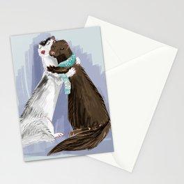 Minky hugs #1 Stationery Cards