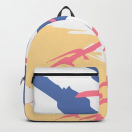 Distressed Abstract Vector Patterns Backgrounds III Backpack