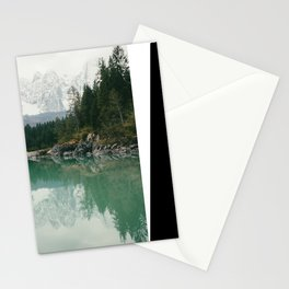 Turquoise lake - Landscape and Nature Photography Stationery Cards