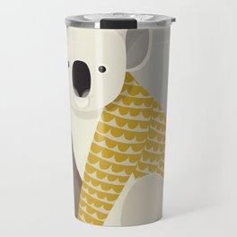 Whimsical Koala Travel Mug