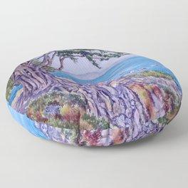 Monterey Bay Cypress Floor Pillow