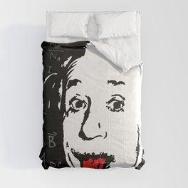 Silly Wisdom - Albert Einstein Comforters