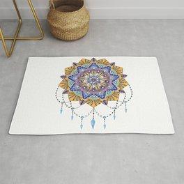 Mandala art,spiritual,colourful pattern  Rug