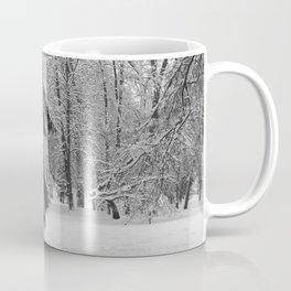 In a snowy park Coffee Mug