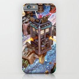 The Battle Of Tardis Art iPhone Case