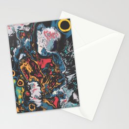 Nocturnal Action Stationery Cards