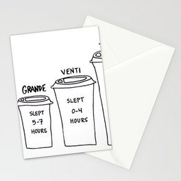 Coffee Design Stationery Cards