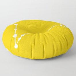 Pisces (White & Gold) Floor Pillow