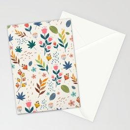 Vintage Style Floral Pattern  Stationery Cards
