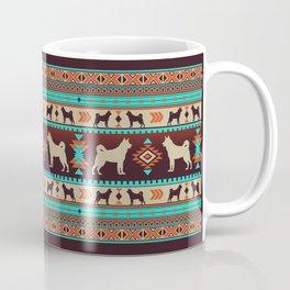 Boho dogs | Elkhound/Jämthund sunset Coffee Mug