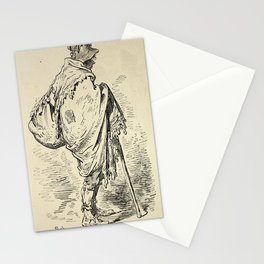 Gustave Doré - Spain (1874): Sketch made in Murcia Stationery Cards