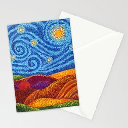 Grounding Hills Stationery Cards