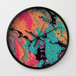 Senses pouring II Wall Clock