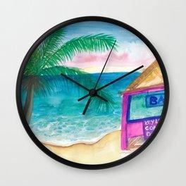 The Key Lime Bar Wall Clock