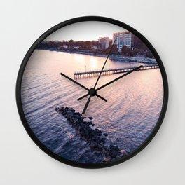 Enaerios Pier Wall Clock