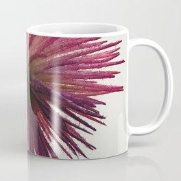 Asian-Inspired Pink Magenta Minimalist Flower Coffee Mug