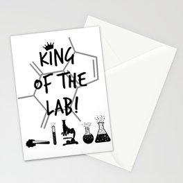 King of The Lab Stationery Cards