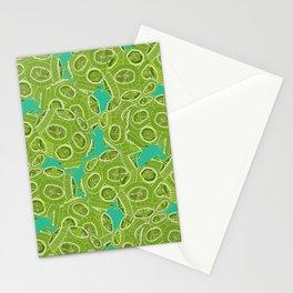 ocean algae Stationery Cards