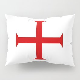 templar knights cross Pillow Sham