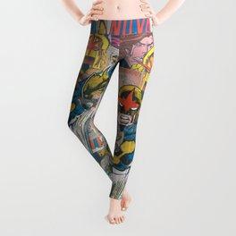 Nova Comic Art Leggings