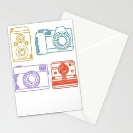 Vintage Camera Retro Color Pastel Hand Drawn Stationery Cards