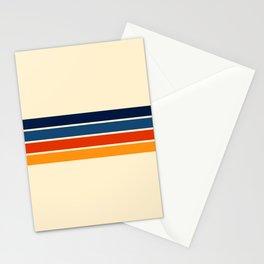 Mitsunari - Classic Retro Stripes Stationery Cards