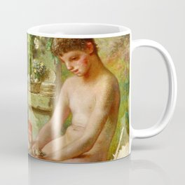 Jean-Francois Millet - Spring, Daphnis And Chloe - Digital Remastered Edition Coffee Mug