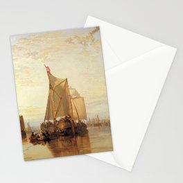 """J.M.W. Turner """"The Dort Packet-Boat from Rotterdam Becalmed"""" Stationery Cards"""