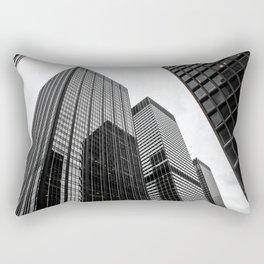 ArtWork New York City Print Work black white Rectangular Pillow