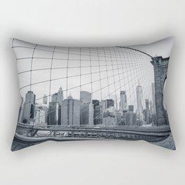 The Bridge And The City Rectangular Pillow