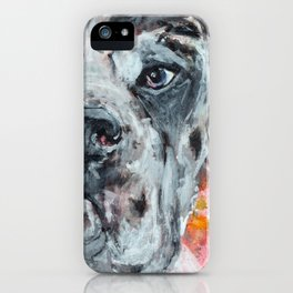 Harle Great Dane iPhone Case