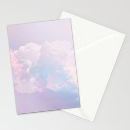Whimsical Pastel Candy Sky #surreal #society6 Stationery Cards