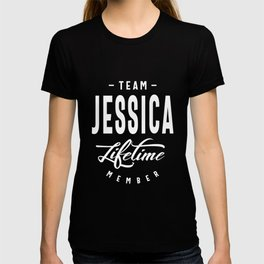 Jessica Personalized Name Birthday Gift T-shirt