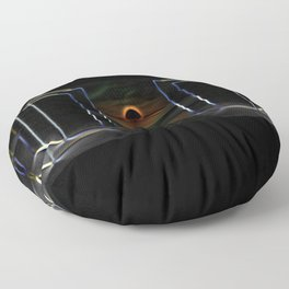 Monolithic Dimension Floor Pillow