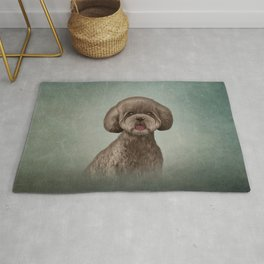 Drawing Toy poodle puppy Rug