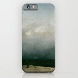Caspar David Friedrich - The Monk by the Sea iPhone Case