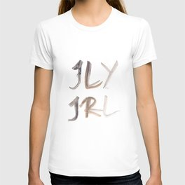 141116 Typography 8 T-shirt