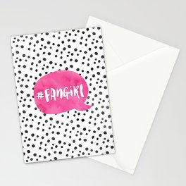 #FanGirl Stationery Cards